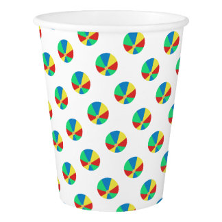 Beach Ball | Pool Party Paper Cup