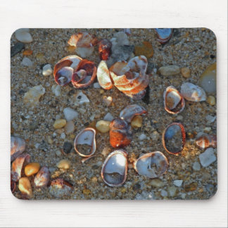 Beach Baubles in Late Day Sun Mouse Pad