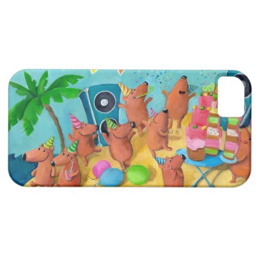 Beach Birthday Party iPhone 5 Cover