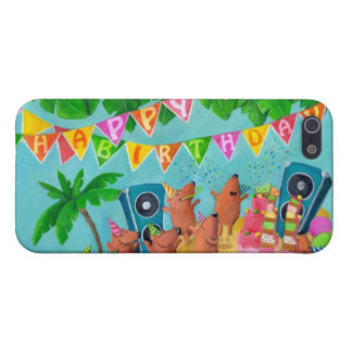 Beach Birthday Party Cases For iPhone 5