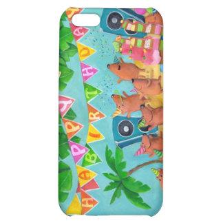 Beach Birthday Party iPhone 5C Cases