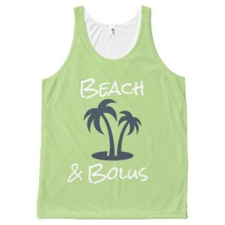 Beach & Bolus All-Over Print Tank Top