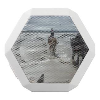 beach white boombot rex bluetooth speaker
