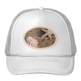 Beach Bridesmaid - Sea Shells Sand Hats