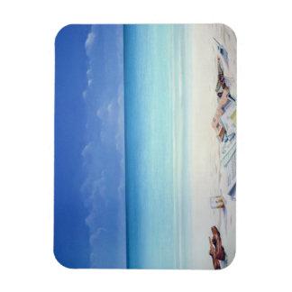 Beach Broker Rectangular Photo Magnet