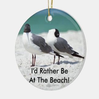 Beach Buddies Christmas Ornament