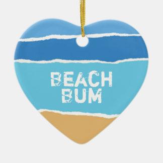 Beach Bum Christmas Ornament