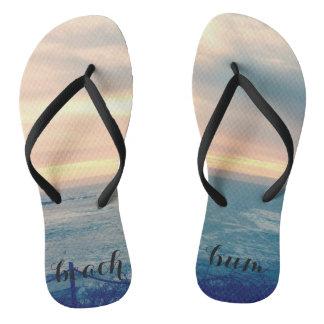 Beach bum cutie flip flops