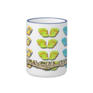 Beach Bum Flip Flops Coffee Mugs