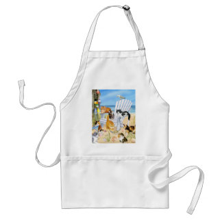 Beach Bum Kittens Apron