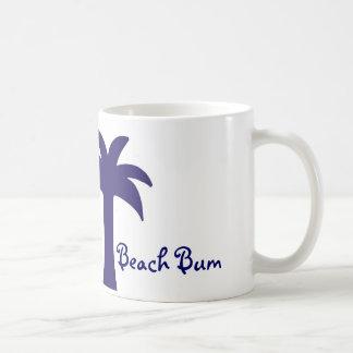 beach bum palmtree mug