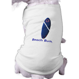 Beach Bum Sleeveless Dog Shirt