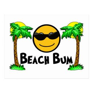 Beach Bum Sunshine & Palm Trees Postcard