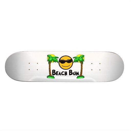 Beach Bum Sunshine & Palm Trees Skateboards