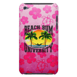 Beach Bum University Barely There iPod Cases