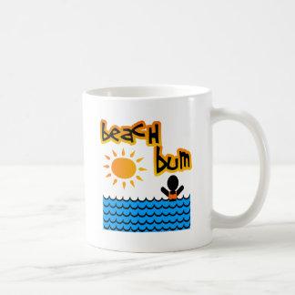 Beach Bum With Sun, Water & Girl Mug