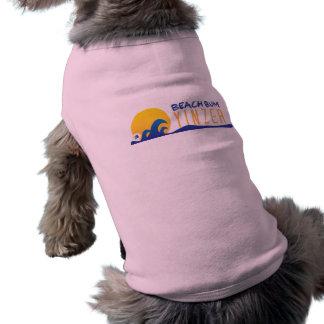 Beach Bum Yinzer Design Pet Tank Shirt Sleeveless Dog Shirt