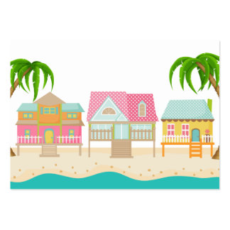 Beach Business / Enclosure Card / Tag - SRF Pack Of Chubby Business Cards