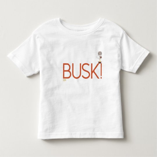 Beach Busk Seagull Ukulele Toddler T-Shirt