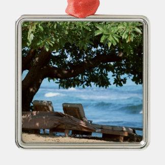 Beach Chair 2 Christmas Ornament