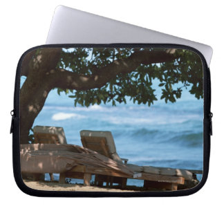 Beach Chair 2 Laptop Sleeve