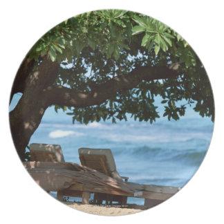 Beach Chair 2 Plate