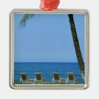 Beach Chair 3 Christmas Ornament