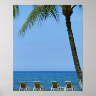 Beach Chair 3 Poster
