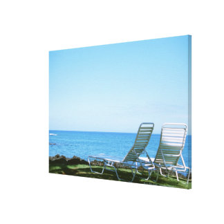 Beach Chair 4 Canvas Print