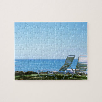 Beach Chair 4 Jigsaw Puzzle
