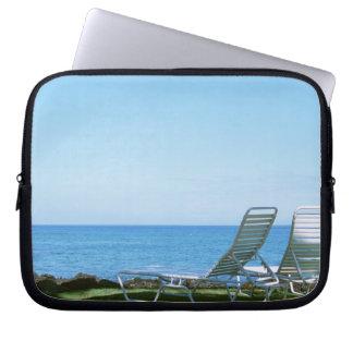 Beach Chair 4 Laptop Sleeve