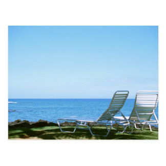 Beach Chair 4 Postcard