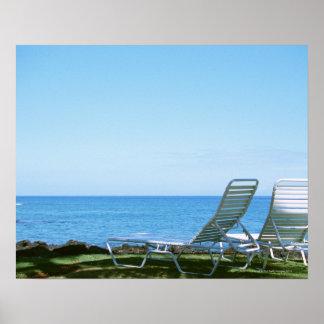 Beach Chair 4 Poster