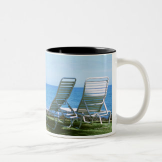 Beach Chair 4 Two-Tone Coffee Mug