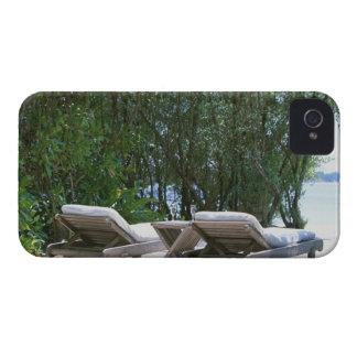 Beach Chair 5 iPhone 4 Case-Mate Case
