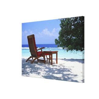 Beach Chair 6 Canvas Print