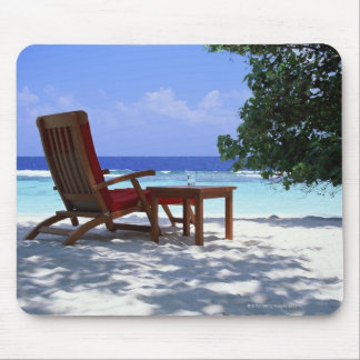 Beach Chair 6 Mouse Mat