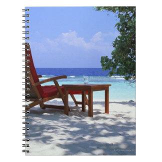 Beach Chair 6 Notebook