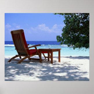 Beach Chair 6 Poster