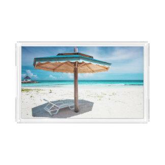 Beach Chair And Umbrella | Silver Sands Beach