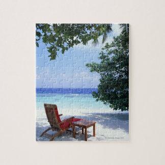 Beach Chair Jigsaw Puzzle