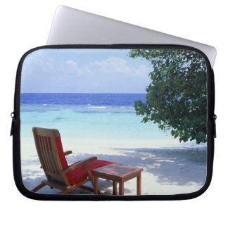 Beach Chair Laptop Sleeve