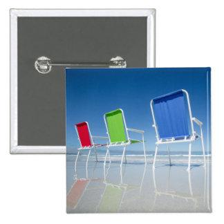Beach Chairs In Australia 15 Cm Square Badge