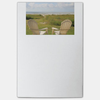 Beach Chairs on Galveston Island Post-it Notes