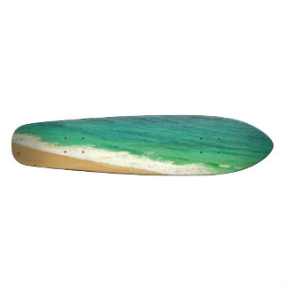 Beach child skateboard