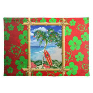 Beach Christmas Placemat