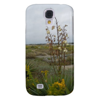 Beach Clouds and Wildflowers - Oak Island, NC Galaxy S4 Case