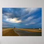 Beach Clouds Print