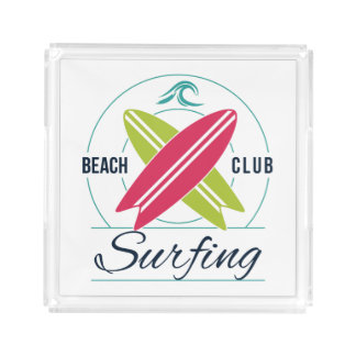 Beach Club Surfing trays