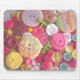 Beach Color Buttons Mouse Mats